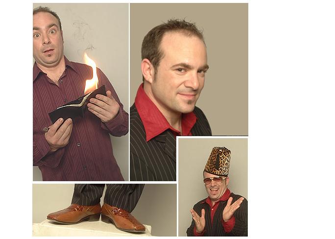 Street Magician Comedian Peter Gross