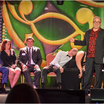Funny Hypnotist for meetings corporate events interactive team building